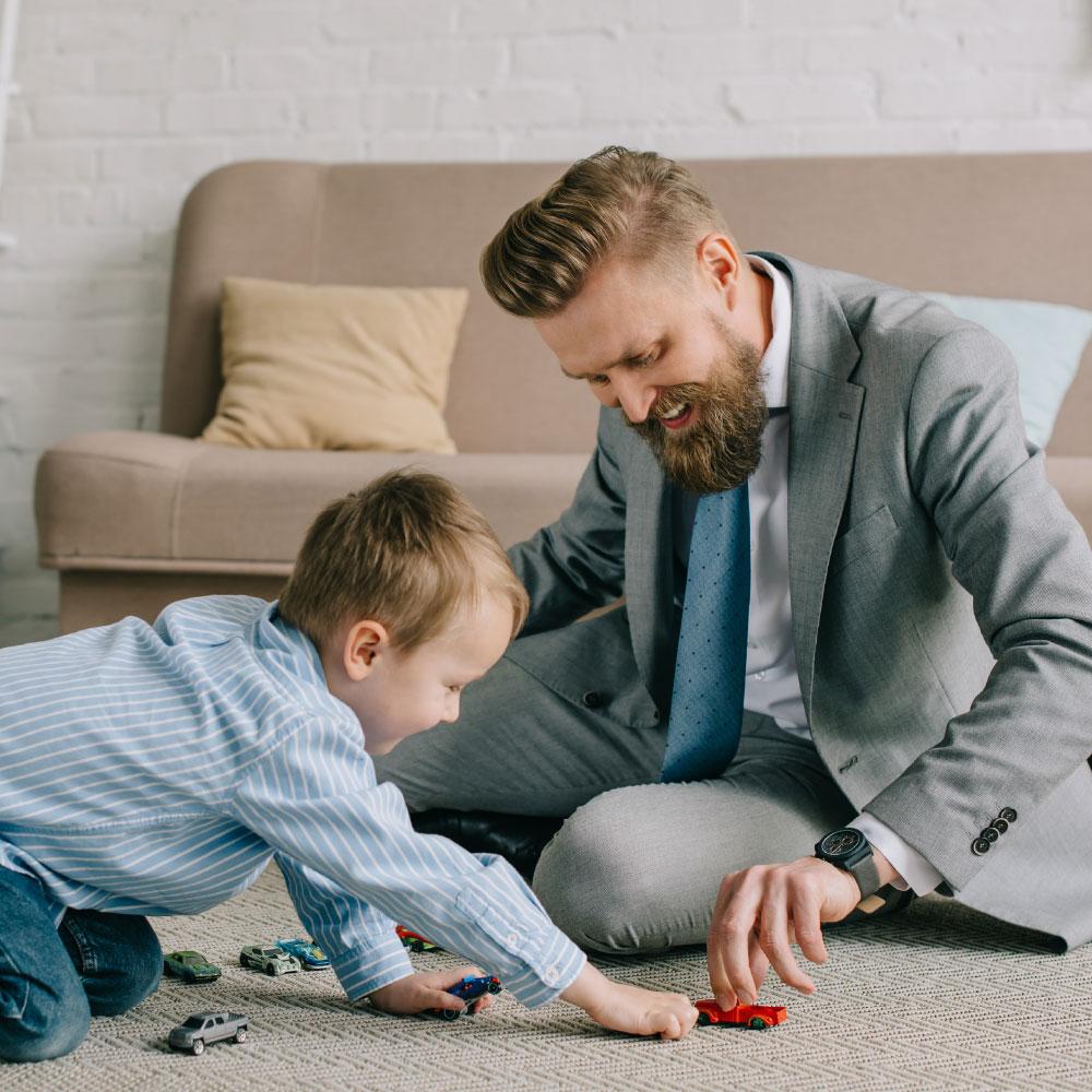 successieplanning zaakvoerder en zoon